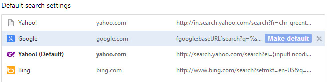How do I make Bing my homepage?