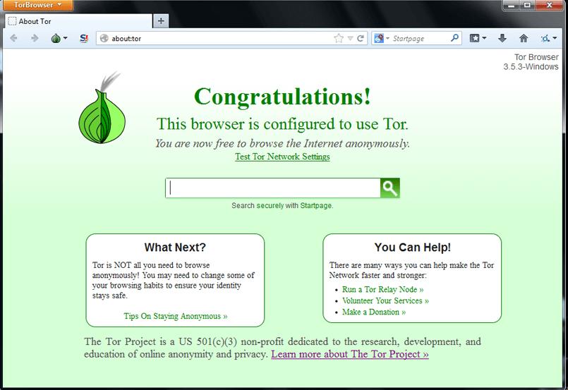 Tor-Installation