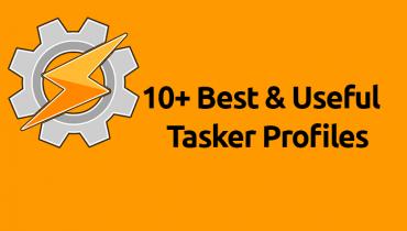 Tasker profiles