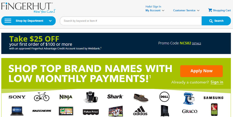 Top 10 sites like fingerhut for Top 10 cheap online shopping sites