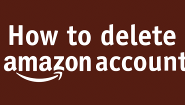 how to delete amazon account