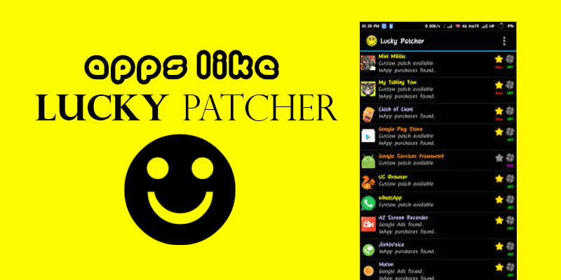Apps like Lucky Patcher