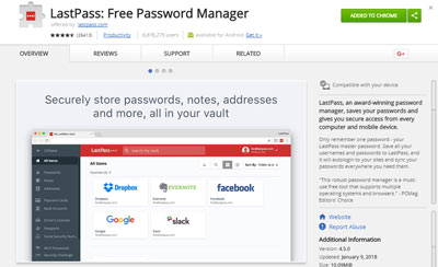 Last Pass: Free Password Manager