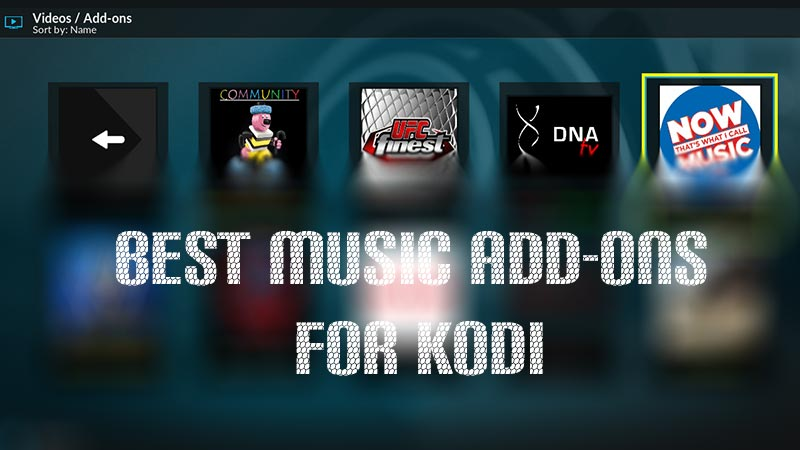 Best Music Add-ons for Kodi