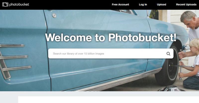 Sites like Photobucket