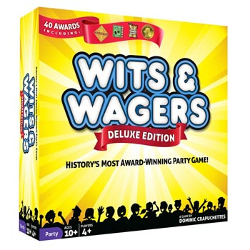 Wits Wagers Deluxe Board Games