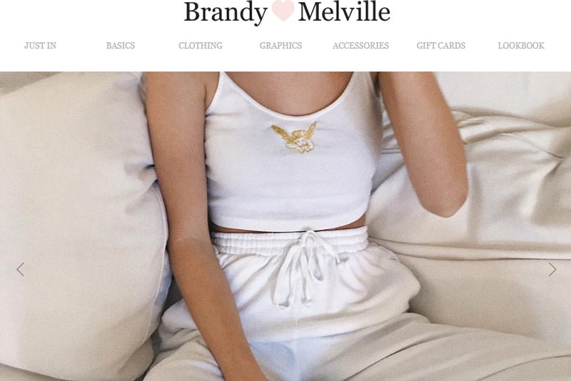 Stores like Brandy Melville