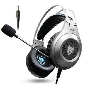 Jeecoo Over Ear Bass Gaming Headphones