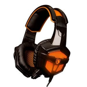 Sades SA-738 over Ear Gaming Headset