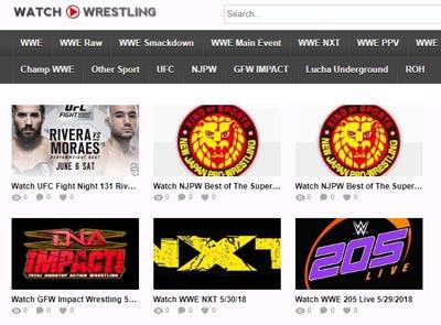 Watch Wrestling